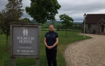 Dignipets visit to Holmes in Heaven pet crematorium