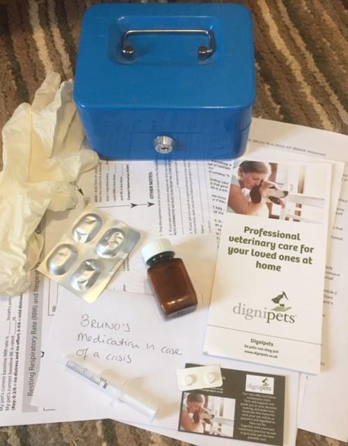 Crisis kits for pets